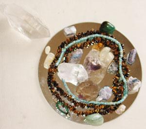 Crystal grid for Abundance
