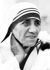 Mother Teresa - photo fr nobelprize.org