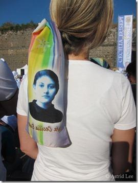 beatification scarf cecilia