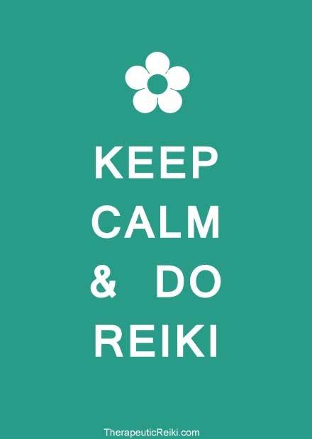 keep calm do reiki poster